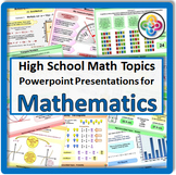 Math Topics for High School Math