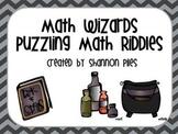 Math Wizards - Puzzling Math Riddles