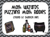 Math Wizards - Puzzling Math Riddles
