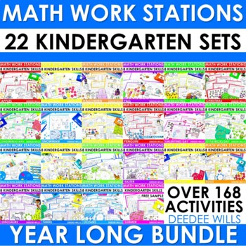 Math Stations ~ The COMPLETE Set