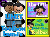 {Math Workshop Unit Bundle} - Math Toolbox and the First 1