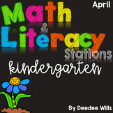 Math and Literacy Stations for April