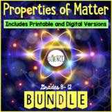 Matter and Change Unit Plan Bundle (Elements, Compounds, M