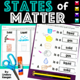 States of Matter Activities: Solids, Liquids and Gases