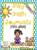 May Math Journals {First Grade}