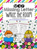 May Missing Letter Write the Room