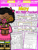 May NO PREP Math and Literacy (2nd Grade)