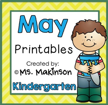 May Printables - Kindergarten Literacy and Math