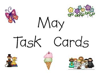 May Task Cards