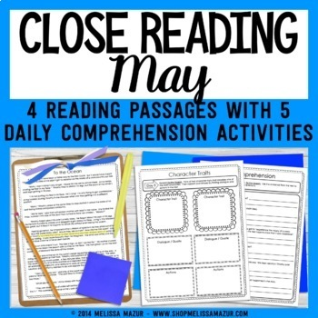Close Reading - May