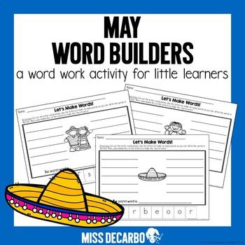 May Word Builders Freebie Pack!