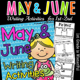 May and June Writing Activities for 1st-2nd Grade