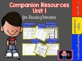 "Reading Wonders Unit 1 ""The Complete Set"" of Mega Pack Uni"
