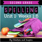 McGraw-Hill Wonders Second Grade Spelling (Unit 1: Weeks 1-5)