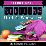 McGraw-Hill Wonders Second Grade Spelling (Unit 4: Weeks 1-5)