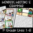 McGraw-Hill Wonders Writing: 1st grade Units 1-6 Bundle
