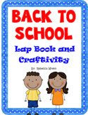 Back to School Lap Book and Craftivity