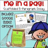 """Me in a Bag""...Scaffolded 5-Paragraph Essay Project"
