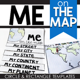Me on the Map Project (Circle and Rectangle Map)