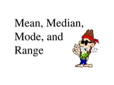 Mean, median, mode, range, line plot, and Box and whisker