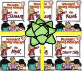 Meaningful Morning Messages 2nd Semester Bundle (Kindergarten)