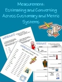 Measurement: Estimating Across Metric/Customary Systems 19