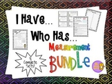 Measurement Activities: I Have Who Has + Quick Quiz (Measu