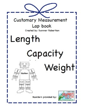 Measurement Lapbook