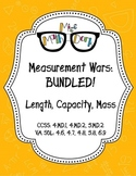 Capacity, Length and Mass (Weight): Measurement Wars Bundle!