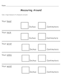 Measurement Worksheets Packet