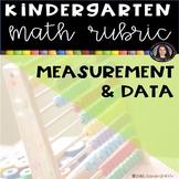 Measurement and Data kindergarten math Common Core Rubric