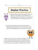 Median Practice Page