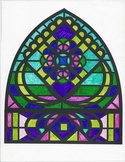 Medieval Stained Glass Window Project