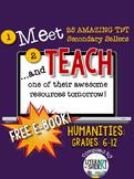 Meet and Teach eBook: Humanities, Grades 6-12 (Free)