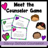 Meet the Counselor Game- Savvy School Counselor