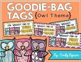 Meet the Teacher Night Goodie Bag Tags! (Owl Themed!)