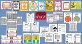 Mega Bundle - Ten, Year Long Literacy Stations - top 100 words