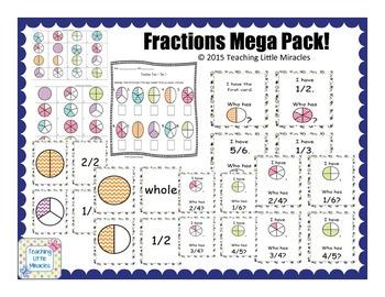 Mega Fraction Pack!