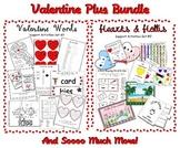 Mega Valentine Bundle - Common Core - Centers, Printables,