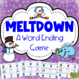 Meltdown: a word ending game