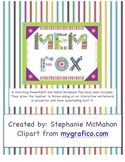 Mem Fox author study with matching PowerPoint and Mimio no