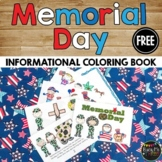 Memorial Day Book, Coloring Pages, & Writing Sheets, Reade