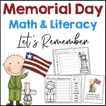 Memorial Day Math & Literacy Packet Common Core