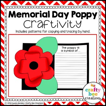 Memorial Day Poppy Craftivity