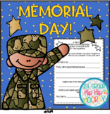 Memorial Day for the Primary Child...a freebie!