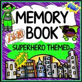 Memory Book Superhero Themed