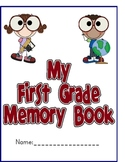 Memory Book Yearbook for the End of the School Year