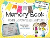 Memory Books {1st Grade Edition}