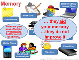Memory - long term and short term memory