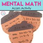 Mental Math Activity